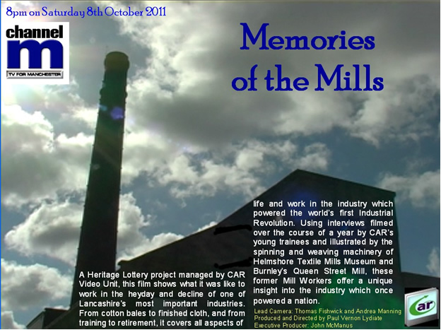 Memories of the mills, Channel M broadcast